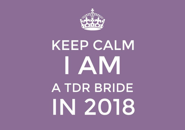 Best Thing About Being a TDR Bride