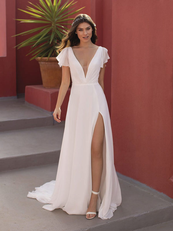 Spring Wedding Dress by The White One